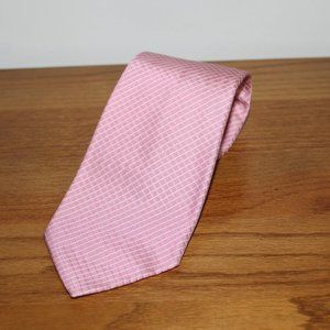 Brooks Brothers pink silk tie
